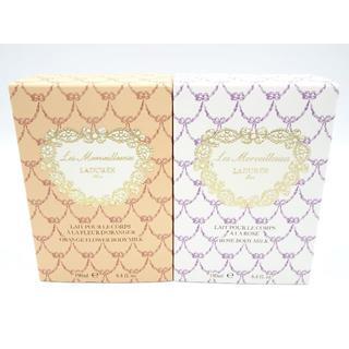 ラデュレ(LADUREE)のラデュレ オレンジフラワー&ローズ ボディミルク 新品(ボディローション/ミルク)