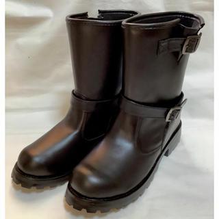 新品 エンジニアショートブーツ★レインブーツ長靴 LL(レインブーツ/長靴)