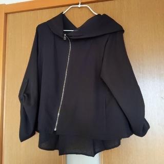 STRAWBERRY-FIELDS - 黒 薄手 羽織り