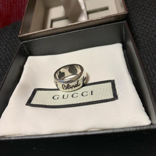 Gucci - 15号 GUCCI Blind for Love シルバーリング