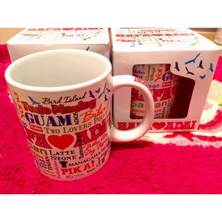 GUAM グアム お土産 マグカップ 2個セット マルチプリント柄 未使用