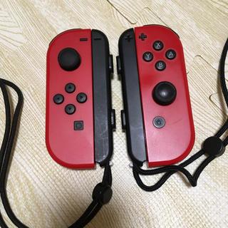 Nintendo Switch - ニンテンドースイッチ ジョイコン 赤 ジャンク品