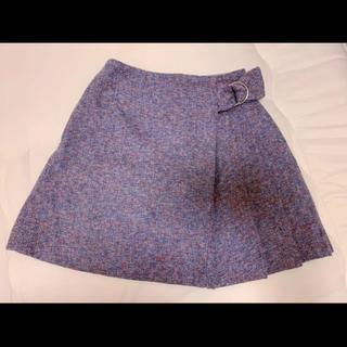 セシルマクビー(CECIL McBEE)のセシル マクビー スカート 紫(ミニスカート)