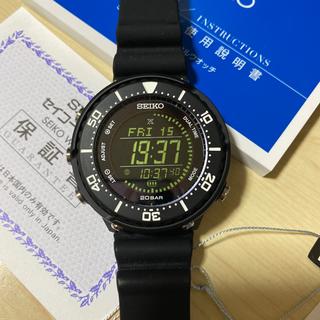 SEIKO - セイコー プロスペックス SBEP013 20気圧防水 ブラック