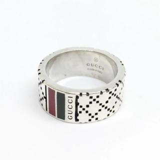 グッチ(Gucci)のGUCCI シルバー シェリーライン リング 18607502(リング(指輪))