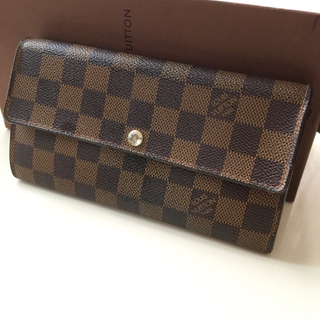 LOUIS VUITTON - 正規品ルイヴィトンダミエ長財布