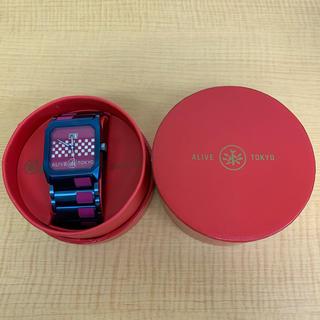 アライブアスレティックス(Alive Athletics)の◆新品未使用◆ALIVE 腕時計 OCTAGON ブルー(腕時計(アナログ))