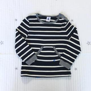 プチバトー(PETIT BATEAU)のプチバトー  マリニエール  プリント  長袖  Tシャツ  36m(Tシャツ/カットソー)