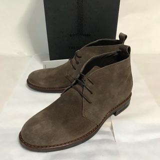 ドクターマーチン(Dr.Martens)の処分特価! Trussardi ブラウンスエードブーツ(EU39)(ブーツ)