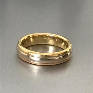 カルティエ(Cartier)のカルティエ Cartier スリーゴールド トリニティリング 指輪 54 14号(リング(指輪))