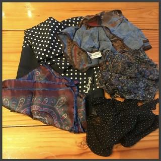 MARGARET HOWELL - スカーフ、ポケットチーフ5点セット