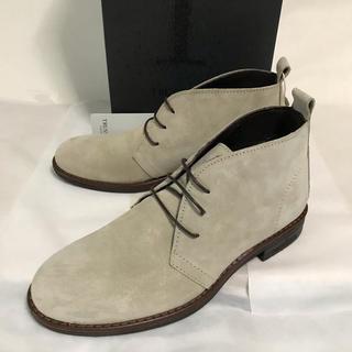 ドクターマーチン(Dr.Martens)の処分特価! Trussardi ベージュスエードブーツ(EU39)(ブーツ)