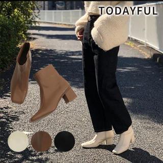 トゥデイフル(TODAYFUL)の新品 todayful 2019aw ブーツ(ブーツ)