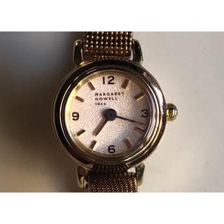 マーガレットハウエル(MARGARET HOWELL)の週末お値下げ!ピンクゴールド  マーガレットハウエルの腕時計(腕時計)