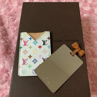 LOUIS VUITTON - ルイ・ヴィトン Louis Vuitton エテュイ コンパクトミラー 鏡