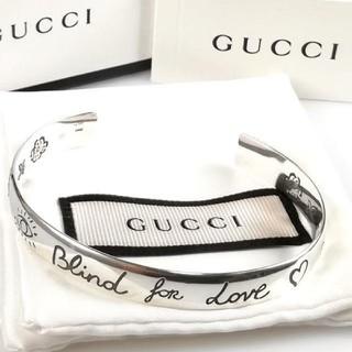 Gucci - 美品 グッチ アイコン シルバー バングル