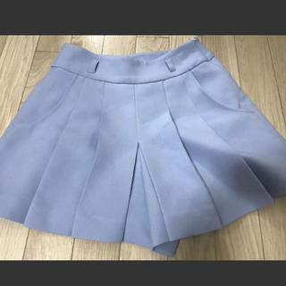 セシルマクビー(CECIL McBEE)のスカートズボン水色キュロットスカート美品人気早い者勝ちかわいいレア(ミニスカート)