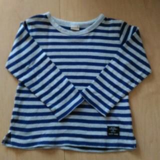 プティマイン(petit main)のpetit main ボーダーロンT(Tシャツ/カットソー)
