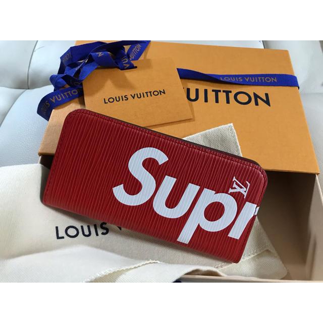 LOUIS VUITTON - たあたあたか様 Louis Vuitton×supreme 二つ折りケースの通販