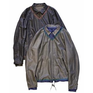カラー(kolor)のKolor tropical-wool zip up jacket(ブルゾン)