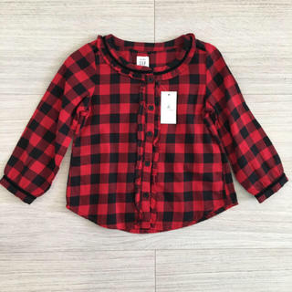 GAP - ギャップ新品★95 長袖シャツ