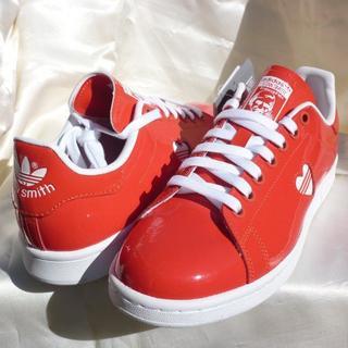 アディダス(adidas)の新品◆24cmアディダスオリジナルス STAN SMITH W スタンスミス赤(スニーカー)