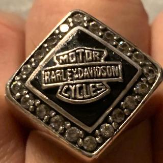 Harley Davidson - harley-davidson ビンテージリング。シルバー925