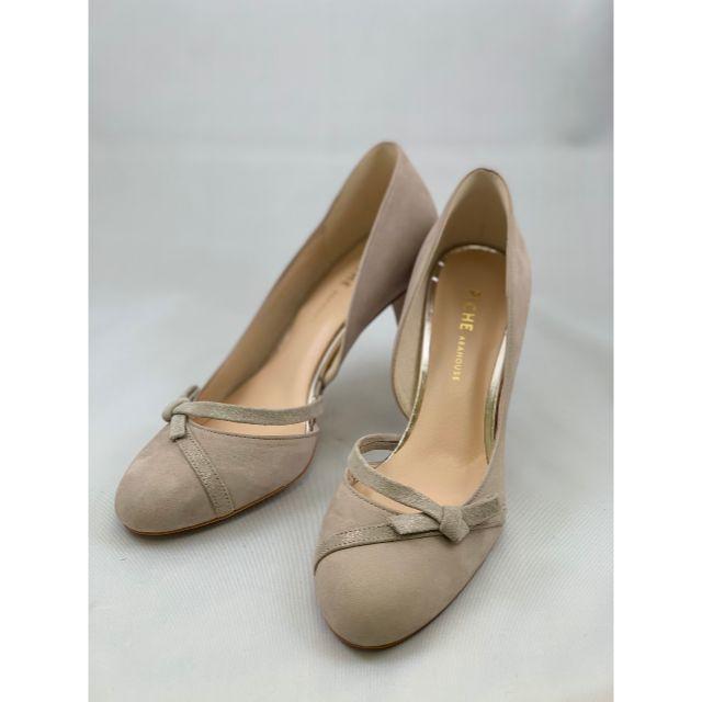 PICHE ABAHOUSE(ピシェアバハウス)の1686 新品未使用 Piche Abahouse リボンパンプス レディースの靴/シューズ(ハイヒール/パンプス)の商品写真