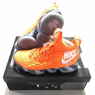 NIKE - 正規品 NIKE ナイキ レブロン15 オレンジボックス