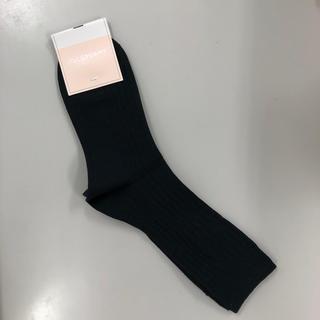 ジルスチュアート(JILLSTUART)のジルスチュアート 靴下 黒(ソックス)
