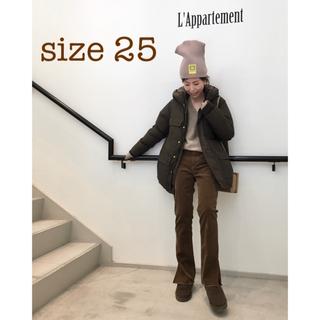 L'Appartement DEUXIEME CLASSE - アパルトモン アッパーハイツ JENNA CORDUROY SLIT パンツ