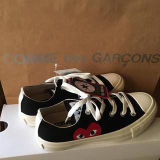 コムデギャルソン(COMME des GARCONS)の23 新品 コムデギャルソン スニーカー コンバース(スニーカー)