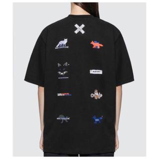 メゾンキツネ(MAISON KITSUNE')のADER ERROR × MAISON KITSUNE バックロゴ Tシャツ(Tシャツ/カットソー(半袖/袖なし))