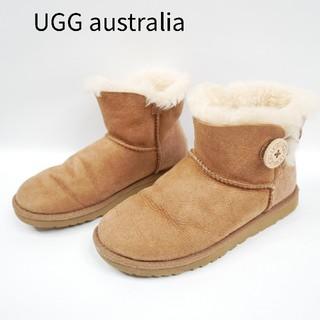 アグ(UGG)のUGG australia アグ 22cm ブラウン系 ムーン ショートブーツ(ブーツ)