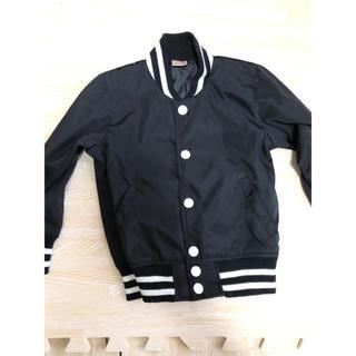 プティマイン(petit main)のプティマイン 100cm MA1 黒 アウター ブルゾン 男の子 女の子(ジャケット/上着)