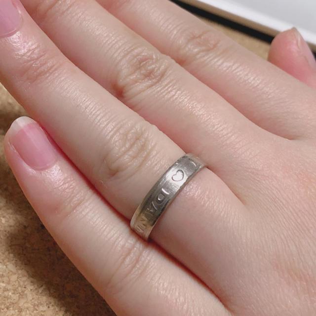 幸せを呼ぶ指輪、ハッピーハート1クローネ レディースのアクセサリー(リング(指輪))の商品写真