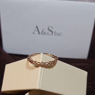 アガット(agete)のアガット agete コットンレース リング k10(リング(指輪))