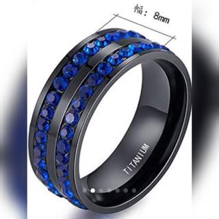 チタン 指輪 リング 16号 メンズ レディース(リング(指輪))