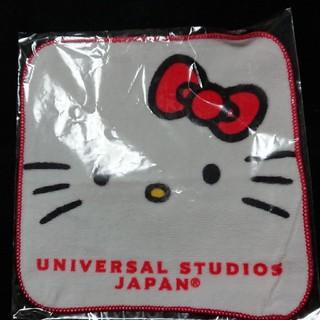 ユニバーサルスタジオジャパン(USJ)のミニタオル    ユニバーサル・スタジオ   キティちゃん(ハンカチ)