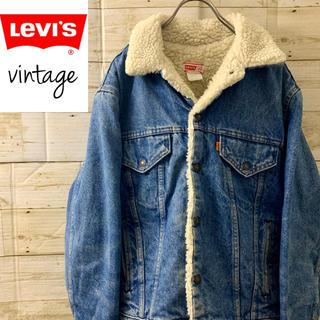 Levi's - 希少‼︎size40 vintage USA製 リーバイス ボア デニム