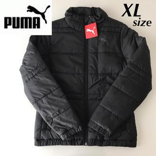 PUMA - 新品★PUMA 中綿ジャケット ダウンジャケット 黒 レディース XLサイズ
