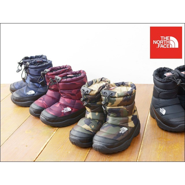 THE NORTH FACE(ザノースフェイス)のTHE NORTH FACE ノースフェイス ヌプシ ブーティー スノーブーツ キッズ/ベビー/マタニティのキッズ靴/シューズ (15cm~)(ブーツ)の商品写真