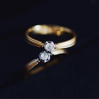 agete - mederu juwelry ロジエ テーパードリング 11号