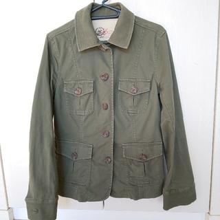 ギャップ(GAP)の★gap jeans カーキジャケット(サイズS)(Gジャン/デニムジャケット)