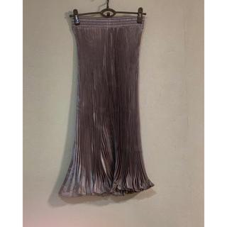 ウィゴー(WEGO)のプリーツスカート 韓国ファッション(ロングスカート)