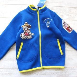 ディズニー(Disney)のディズニー ミッキー キッズ フリースジャケット 120/〓ZFT(ネコ)(ジャケット/上着)