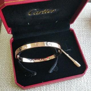 Cartier - 美品 Cartier カルティエ 17cm ブレスレット 早い者勝ち