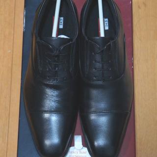 アシックス(asics)のテクシーリュクス ストレートチップ 黒 TU-7758 24.5(ドレス/ビジネス)