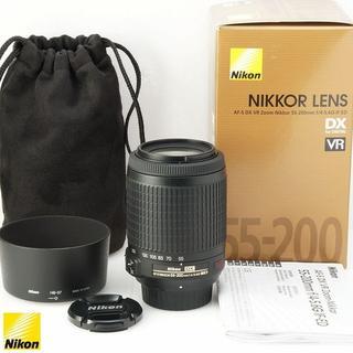 Nikon - 美品★欠品無し AF-S 55-200mm VR Nikon 望遠レンズ