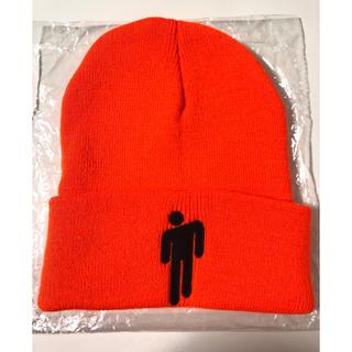 Billie Eilish ビーニー ニット帽 オレンジ色